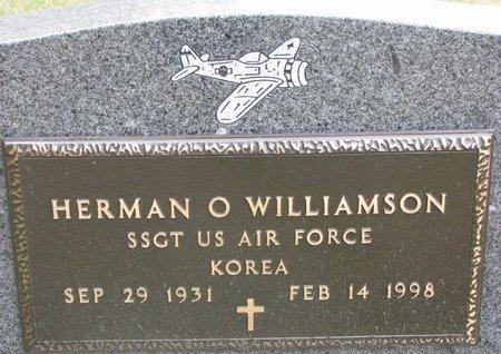WILLIAMSON, HERMAN O. (MILITARY) - Turner County, South Dakota | HERMAN O. (MILITARY) WILLIAMSON - South Dakota Gravestone Photos