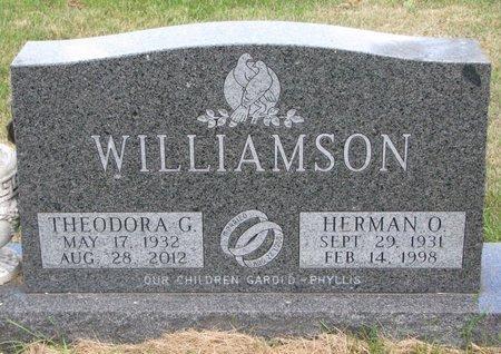 WILLIAMSON, THEODORA G. - Turner County, South Dakota | THEODORA G. WILLIAMSON - South Dakota Gravestone Photos