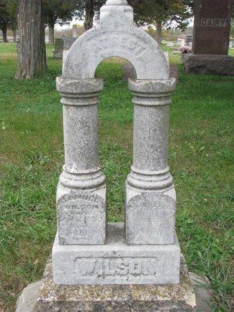 WILSON, ANNA - Turner County, South Dakota | ANNA WILSON - South Dakota Gravestone Photos