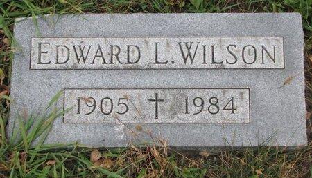 WILSON, EDWARD L. - Turner County, South Dakota   EDWARD L. WILSON - South Dakota Gravestone Photos