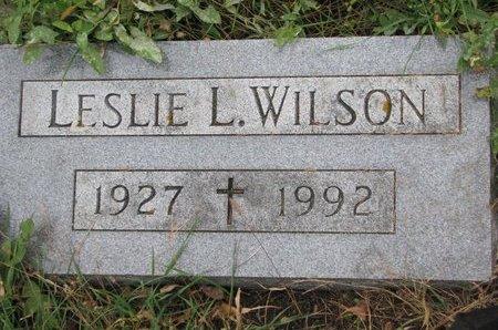 WILSON, LESLIE L. - Turner County, South Dakota | LESLIE L. WILSON - South Dakota Gravestone Photos