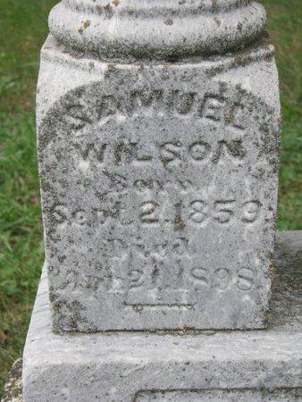 WILSON, SAMUEL (CLOSE UP) - Turner County, South Dakota | SAMUEL (CLOSE UP) WILSON - South Dakota Gravestone Photos