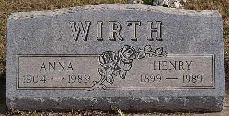 WIRTH, HENRY - Turner County, South Dakota | HENRY WIRTH - South Dakota Gravestone Photos