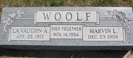WOOLF, MARVIN L. - Turner County, South Dakota | MARVIN L. WOOLF - South Dakota Gravestone Photos