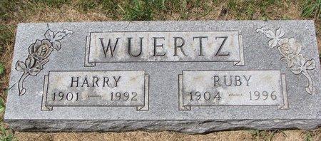 WUERTZ, RUBY - Turner County, South Dakota | RUBY WUERTZ - South Dakota Gravestone Photos