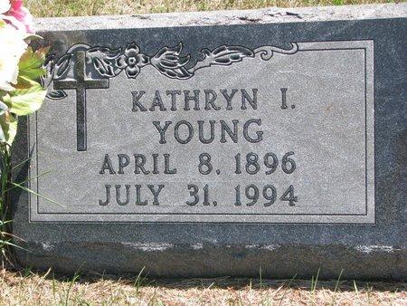 YOUNG, KATHYN I. - Turner County, South Dakota | KATHYN I. YOUNG - South Dakota Gravestone Photos