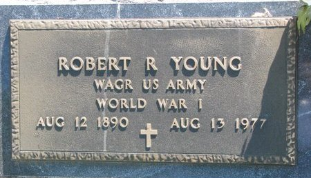 YOUNG, ROBERT R. - Turner County, South Dakota | ROBERT R. YOUNG - South Dakota Gravestone Photos