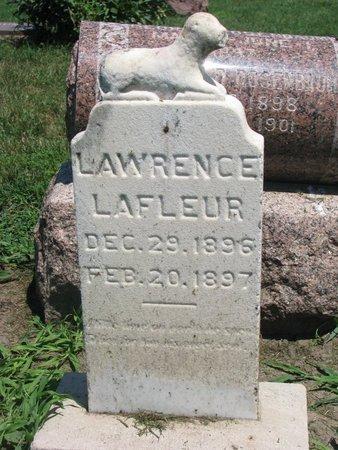 LA FLEUR, LAWRENCE - Union County, South Dakota   LAWRENCE LA FLEUR - South Dakota Gravestone Photos