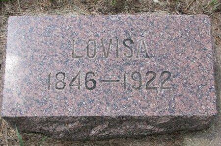 LARSON, LOVISA - Union County, South Dakota | LOVISA LARSON - South Dakota Gravestone Photos