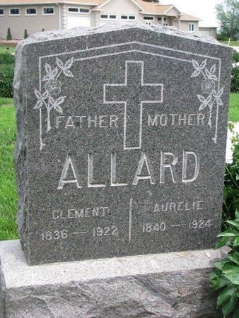 DOZOIS ALLARD, AURELIE - Union County, South Dakota | AURELIE DOZOIS ALLARD - South Dakota Gravestone Photos
