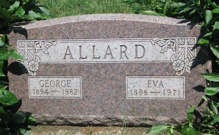 ALLARD, GEORGE - Union County, South Dakota   GEORGE ALLARD - South Dakota Gravestone Photos