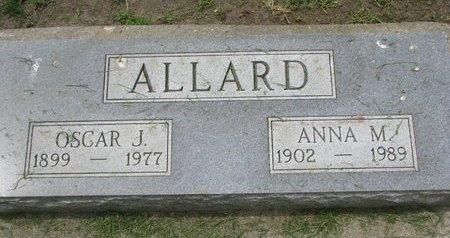 ALLARD, OSCAR J. - Union County, South Dakota | OSCAR J. ALLARD - South Dakota Gravestone Photos