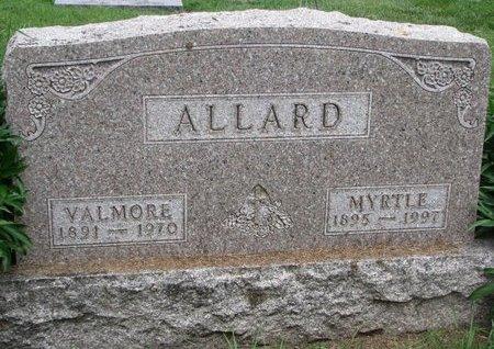 ALLARD, MYRTLE - Union County, South Dakota   MYRTLE ALLARD - South Dakota Gravestone Photos