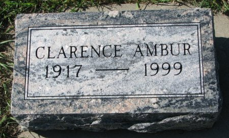 AMBUR, CLARENCE - Union County, South Dakota | CLARENCE AMBUR - South Dakota Gravestone Photos