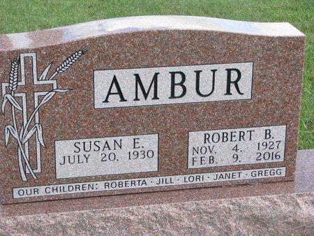 AMBUR, ROBERT BURNEY - Union County, South Dakota   ROBERT BURNEY AMBUR - South Dakota Gravestone Photos