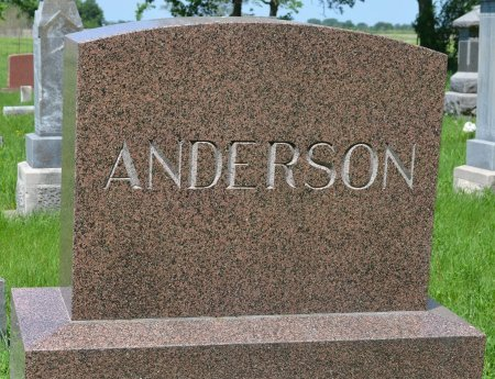 ANDERSON, *FAMILY MONUMENT - Union County, South Dakota   *FAMILY MONUMENT ANDERSON - South Dakota Gravestone Photos
