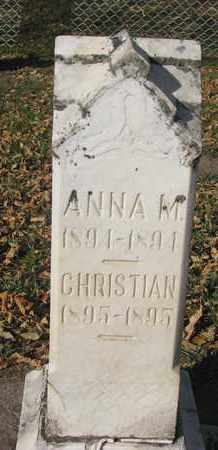 ANDERSON, ANNA M. - Union County, South Dakota | ANNA M. ANDERSON - South Dakota Gravestone Photos