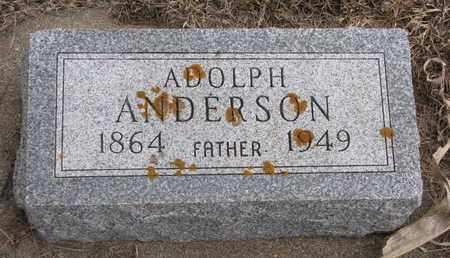 ANDERSON, ADOLPH - Union County, South Dakota   ADOLPH ANDERSON - South Dakota Gravestone Photos