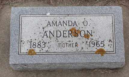 ANDERSON, AMANDA O. - Union County, South Dakota | AMANDA O. ANDERSON - South Dakota Gravestone Photos