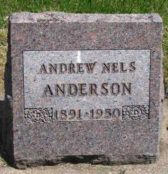 ANDERSON, ANDREW NELS - Union County, South Dakota   ANDREW NELS ANDERSON - South Dakota Gravestone Photos