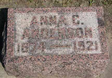 ANDERSON, ANNA C. - Union County, South Dakota | ANNA C. ANDERSON - South Dakota Gravestone Photos
