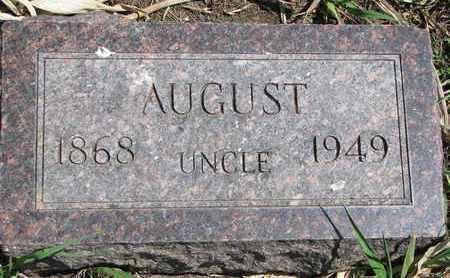 ANDERSON, AUGUST - Union County, South Dakota | AUGUST ANDERSON - South Dakota Gravestone Photos