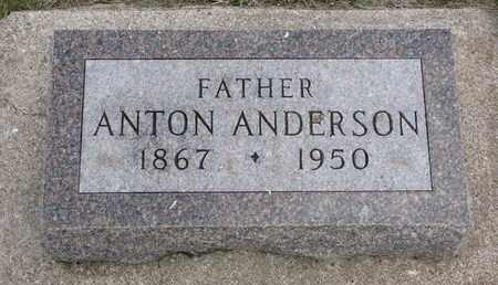 ANDERSON, ANTON - Union County, South Dakota   ANTON ANDERSON - South Dakota Gravestone Photos