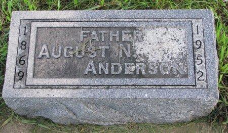 ANDERSON, AUGUST N. - Union County, South Dakota | AUGUST N. ANDERSON - South Dakota Gravestone Photos