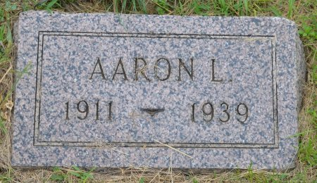 ANDERSON, AARON LESTER - Union County, South Dakota   AARON LESTER ANDERSON - South Dakota Gravestone Photos