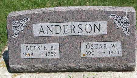 ANDERSON, BESSIE B. - Union County, South Dakota | BESSIE B. ANDERSON - South Dakota Gravestone Photos