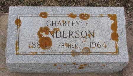 ANDERSON, CHARLEY F. - Union County, South Dakota | CHARLEY F. ANDERSON - South Dakota Gravestone Photos