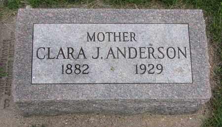 ANDERSON, CLARA J. - Union County, South Dakota | CLARA J. ANDERSON - South Dakota Gravestone Photos