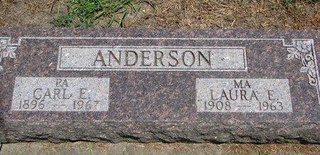 ANDERSON, LAURA E. - Union County, South Dakota | LAURA E. ANDERSON - South Dakota Gravestone Photos