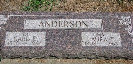 ANDERSON, CARL E. - Union County, South Dakota   CARL E. ANDERSON - South Dakota Gravestone Photos