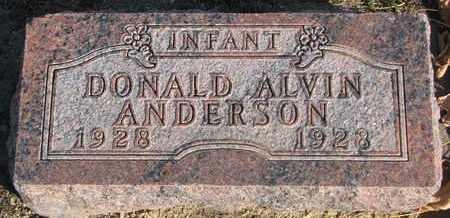 ANDERSON, DONALD ALVIN - Union County, South Dakota | DONALD ALVIN ANDERSON - South Dakota Gravestone Photos