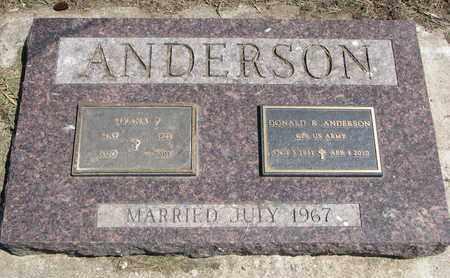 ANDERSON, MYRNA P. - Union County, South Dakota | MYRNA P. ANDERSON - South Dakota Gravestone Photos