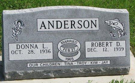 ANDERSON, DONNA L. - Union County, South Dakota | DONNA L. ANDERSON - South Dakota Gravestone Photos