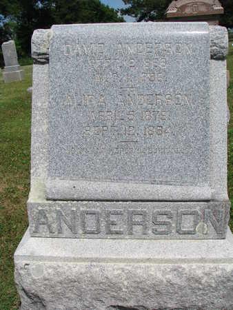 ANDERSON, DAVID - Union County, South Dakota   DAVID ANDERSON - South Dakota Gravestone Photos