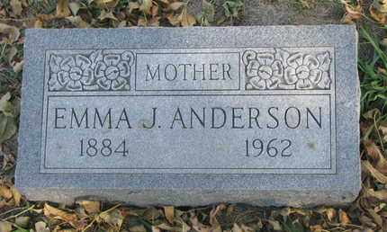 ANDERSON, EMMA J. - Union County, South Dakota | EMMA J. ANDERSON - South Dakota Gravestone Photos