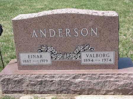 ANDERSON, EINAR - Union County, South Dakota   EINAR ANDERSON - South Dakota Gravestone Photos