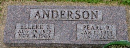 ANDERSON, ELLERD S. - Union County, South Dakota | ELLERD S. ANDERSON - South Dakota Gravestone Photos