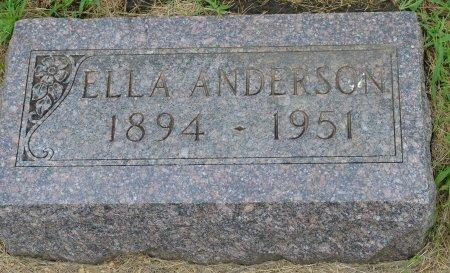 ANDERSON, ELLA SOPHIA - Union County, South Dakota | ELLA SOPHIA ANDERSON - South Dakota Gravestone Photos