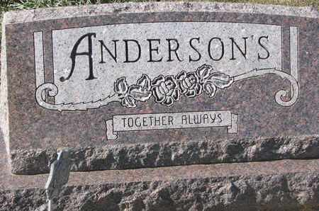 ANDERSON, FAMILY MARKER - Union County, South Dakota | FAMILY MARKER ANDERSON - South Dakota Gravestone Photos