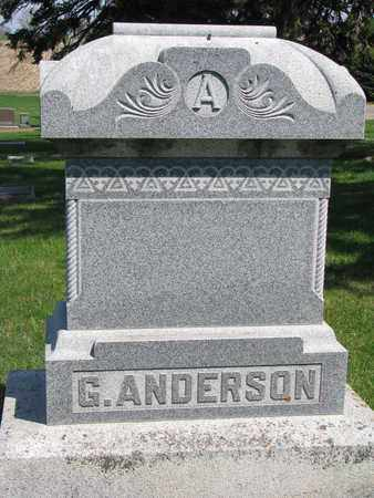 ANDERSON, *FAMILY MONUMENT - Union County, South Dakota | *FAMILY MONUMENT ANDERSON - South Dakota Gravestone Photos