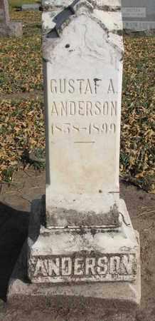 ANDERSON, GUSTAF A. - Union County, South Dakota | GUSTAF A. ANDERSON - South Dakota Gravestone Photos