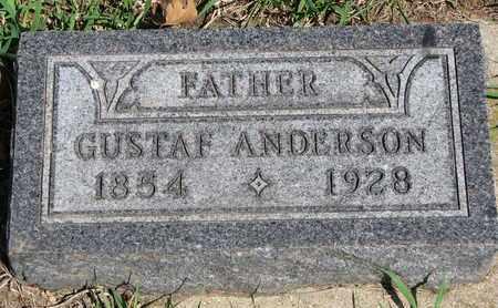 ANDERSON, GUSTAF - Union County, South Dakota | GUSTAF ANDERSON - South Dakota Gravestone Photos