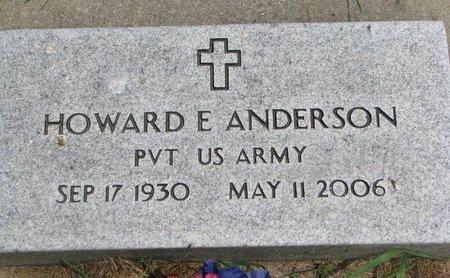 ANDERSON, HOWARD EUGENE (US ARMY) - Union County, South Dakota   HOWARD EUGENE (US ARMY) ANDERSON - South Dakota Gravestone Photos