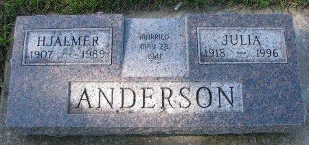 ANDERSON, JULIA - Union County, South Dakota | JULIA ANDERSON - South Dakota Gravestone Photos