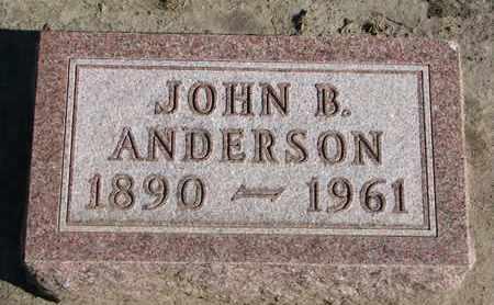 ANDERSON, JOHN B. - Union County, South Dakota   JOHN B. ANDERSON - South Dakota Gravestone Photos