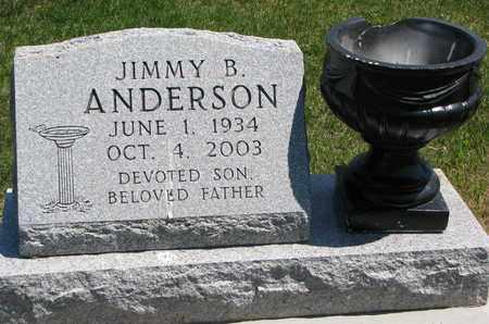 ANDERSON, JIMMY B. - Union County, South Dakota   JIMMY B. ANDERSON - South Dakota Gravestone Photos